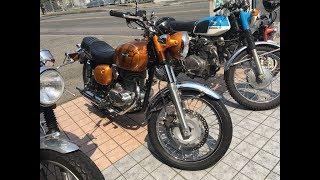 美人ライダー 美女ライダー 後輩ライダー 2013 Kawasaki ESTRELLA 250 BJ250A 2013 カワサキ エストレヤ250 Café Racer カフェレーサー