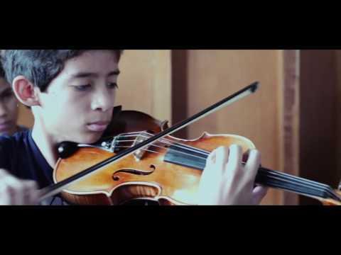 Latinoamerican Violin Academy-El Sistema  Dr. Francisco Diaz- Violin Masterclass