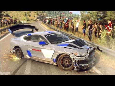Dirt Rally 2.0 - Testing Damage/Crash Physics - LETS BREAK STUFF!