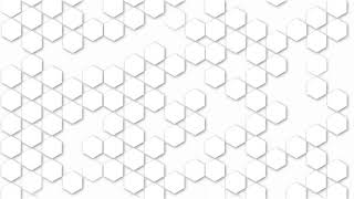 Hexagonal White backgrounds   Power point background   Keynote background   Royalty Free Footages