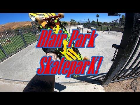 Blair Park Skatepark!(back on a board)