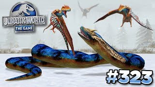 Download Youtube: TITANOBOA TAKES ON THE BIRDS!!! || Jurassic World - The Game - Ep323 HD