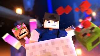 MINECRAFT GIRLFRIEND - ATTACKING THE MINESHAFT! ZOMBIE AND CREEPER HORDE! (Minecraft Love Survival)