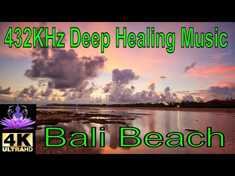 4K INSPIRATION – 432 Hz – Deep Healing Music for The Body & Soul (Audio and Visual Ocean Meditation)