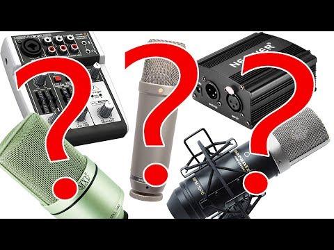 Mikrofon RICHTIG an den Rechner anschließen! Interface, Adapter oder direkt? | 2018