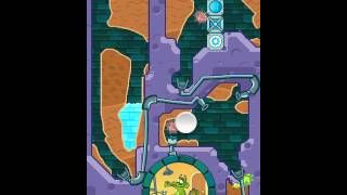 Where's My Water Level 4-15 Figure Eight (Sink Or Swim) Game Walkthrough / Level Solution! Help!