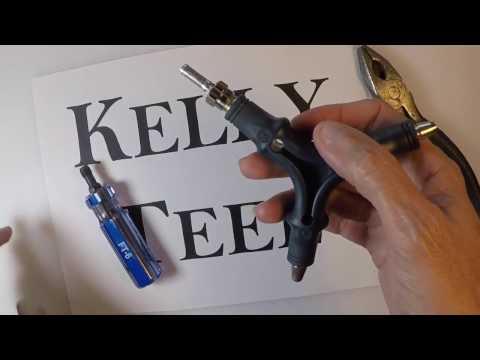 Make a DIY RG6 Coaxial Flaring Tool for Quad or Dual Shield.  EASY!