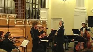 БАХ КОНЦЕРТ ДЛЯ СКРИПКИ И СТРУННЫХ №1 ЛЯ МИНОР BWV 1041