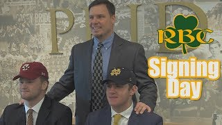 RBC Signing Day 2019 | Bauman to ND | Gordinier Inks with BC