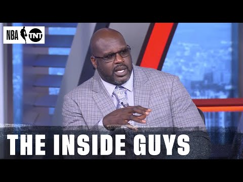 Shaq Issues A Challenge To Anthony Davis After Lakers Game 1 Loss to Portland | NBA on TNT