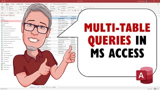Create a Multiple Table Query in MS Access     The Introduction to MS Access Course