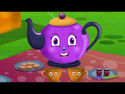 I am a Little Teapot | Nursery Rhymes  for children and Kids Songs