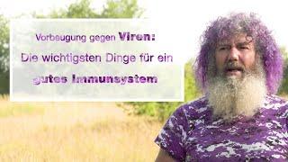 Robert Franz: Was würde er gegen Viren und für ein gutes Immunsystem tun? OPTIMALER SCHUTZ!