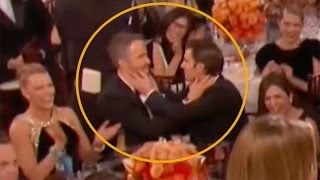 Ryan Reynolds Kissed WHO At The Golden Globes Its Not Blake Lively