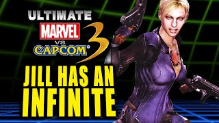 JILL HAS AN INFINITE?! Ultimate Marvel Vs. Capcom 3 - Online Matches