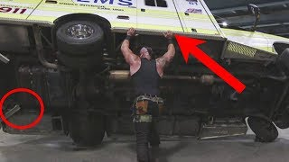 How Did A WWE Wrestler Pick Up A 3 Ton Ambulance? WWE Secrets Exposed!