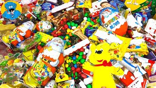 Много Новогодних Конфет,Сладостей и Киндер Сюрпризы.Распаковка Подарочных Наборов a lot of candy