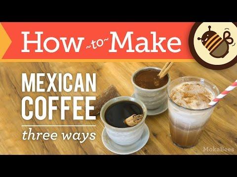 How to Make Mexican Coffee - Three Ways - Café de Olla Coffee Recipe (Spiced, Chocolate & Iced)