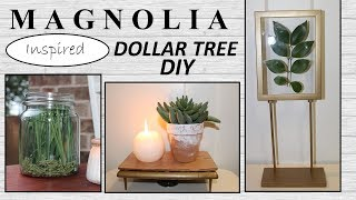 MAGNOLIA Inspired (2019) | Dollar Tree DIY | Dollar Tree Farmhouse