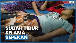 """Kesulitan Biaya, Echa """"Putri Tidur"""" Asal Bajarmasin Belum Dapat Dibawa ke Jakarta untuk Berobat"""