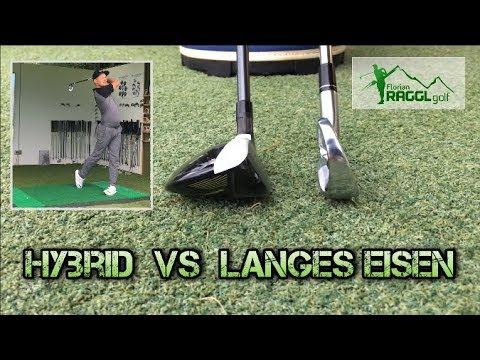 LANGE EISEN vs. HYBRID (RESCUE) - GOLFTECHNIK