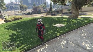 GTA 5 Ant-Man Mod - Người Kiến xuất hiện trong game GTA 5
