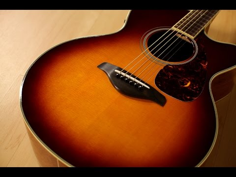 Yamaha FJX720SC Acoustic Electric Guitar Demo