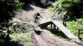 preview picture of video 'iXS Swiss Downhill Cup, Chur 2011'