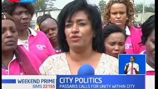 Passaris calls for unity among Nairobi leaders, to maximize on service delivery
