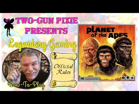 How To Play 025 - Planet of the Apes by IDW Games