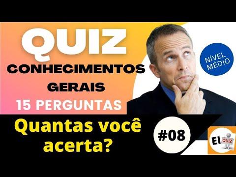 DESAFIO QUIZ DE CONHECIMENTOS GERAIS   NVEL MDIO #8