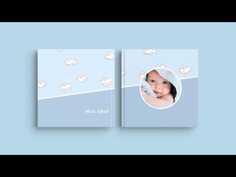 Inspiration pour la couverture de votre livre photo - 'Mon bébé'