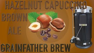 Hazelnut Cappuccino Brown Ale Grainfather Brew 4k HD
