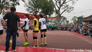 Tiến Nông Thanh Hóa vs VTV Bình Điền Long An | Bán Kết Giải Hội Làng Quan Độ năm 2019