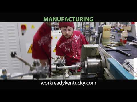 Advanced manufacturing for Work Ready Kentucky Scholarship