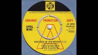 April Wine - Bad Side Of The Moon (LP version) (1972)