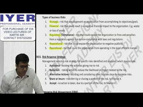 CA INTER EIS REVISION - CH 1 - AUTOMATED BUSINESS PROCESSES | IYER PROFESSIONAL ACADEMY