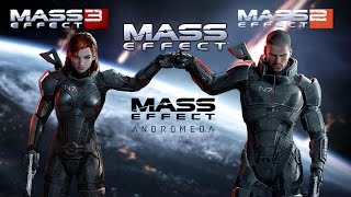 History of Mass Effect -Trailers (2008-2017)
