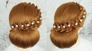 Most Beautiful Bridal Hairstyle Tutorial 2019 - Easy Hairstyles For Wedding Party | Cute Hairstyles