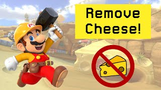 How To Remove Cheese From Your Super Mario Maker 2 Levels!