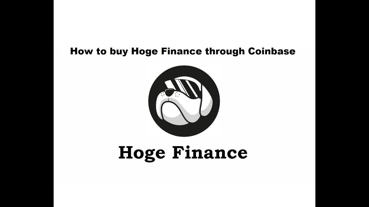 How to purchase Hoge Financing through Coinbase|AizeLene thumbnail