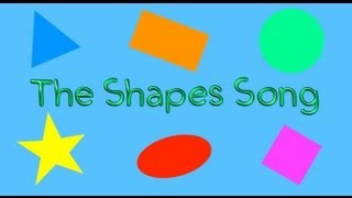 The Shapes Song (childrens Song For Learning Basic Shapes)