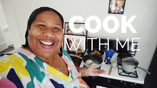 COOK WITH ME, DECORATE WITH ME, HANG WITH ME | AND I GET DRESSED VLOG
