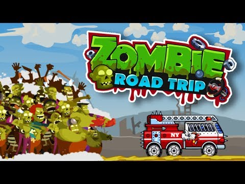THIS GAME IS THE BEST! | ZOMBIE ROAD TRIP
