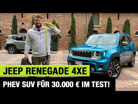 """2021 Jeep Renegade 4xe """"Limited"""" (190 PS)🔋🔌 PHEV-SUV für 30.000 € im Test! 🤯 Fahrbericht 