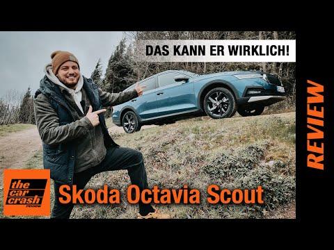 2021 Skoda Octavia Combi Scout (200 PS) im 4x4 OFFROAD-Test! 🌳 Fahrbericht | Review | 2.0 TDI DSG