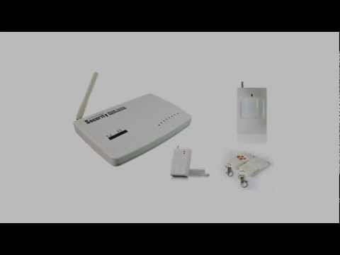 Fuloon Autodial Wireless Home House GSM Security Burglar Alarm System F87.mp4