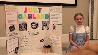 Student Presentation: Judy Garland (History)
