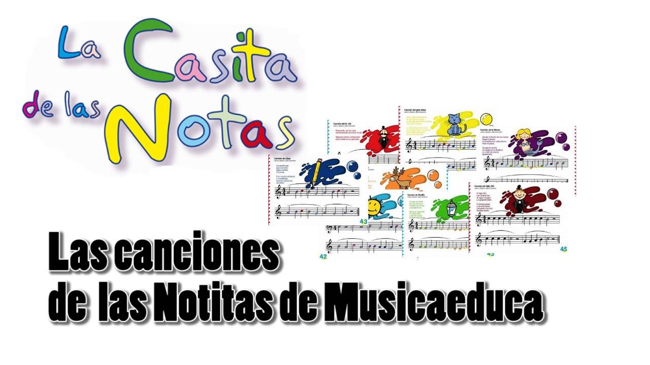 Canciones modales para aprender las notas