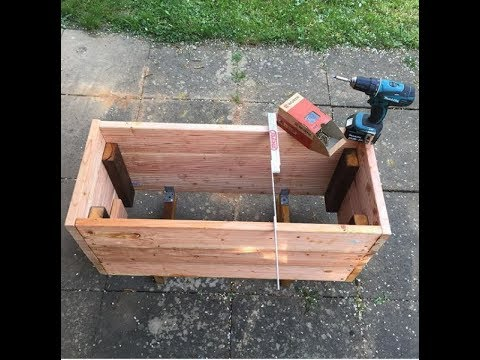 Bauanleitung: Mini-Hochbeet für Balkon oder Terrasse